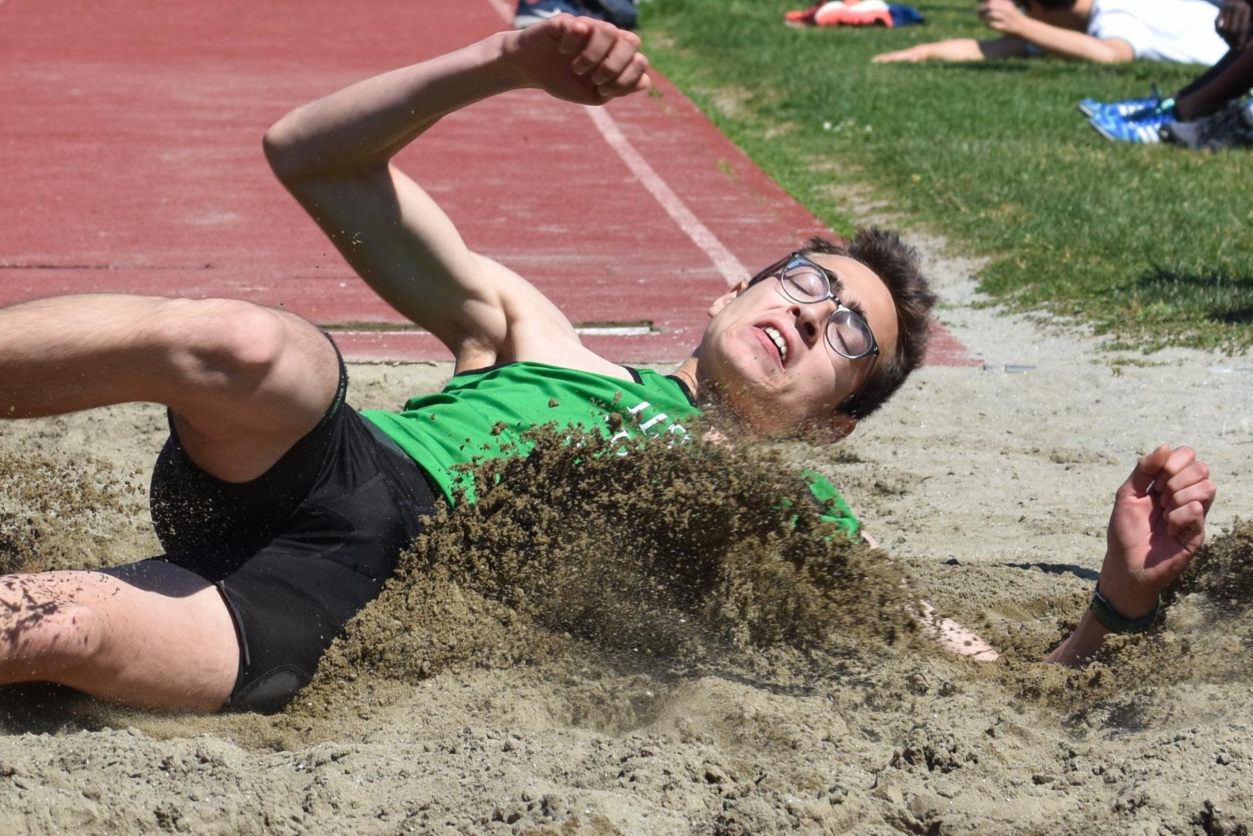 A De Angelis il lungo dei Campionati Studenteschi