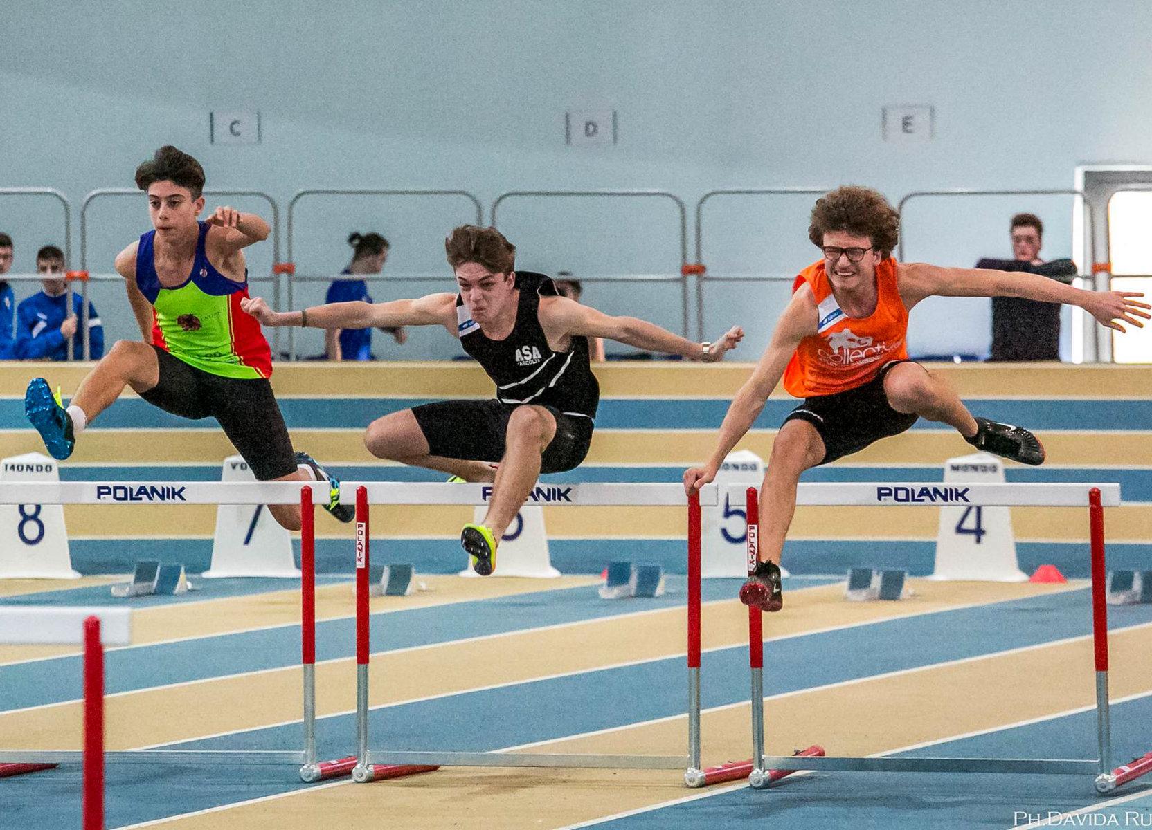 Week end di soddisfazioni per gli atleti dell'ASA al Palaindoor