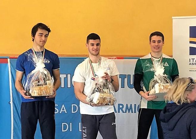 Simone Comini Campione Italiano ai Campionati Invernali di Lanci