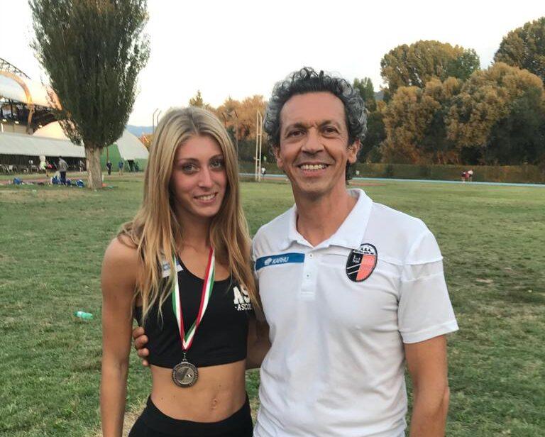 Angelini, ancora un record: 11.83 nei 100
