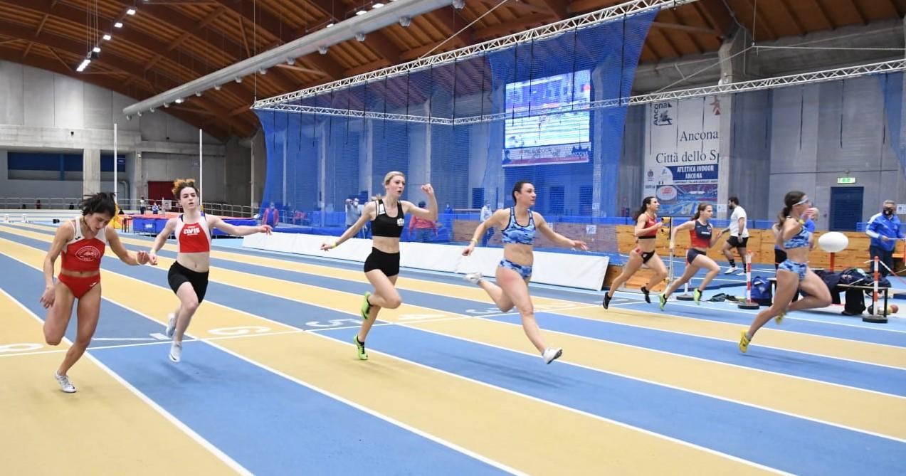 Record Regionale assoluto per Ilenia Angelini nei m60 indoor